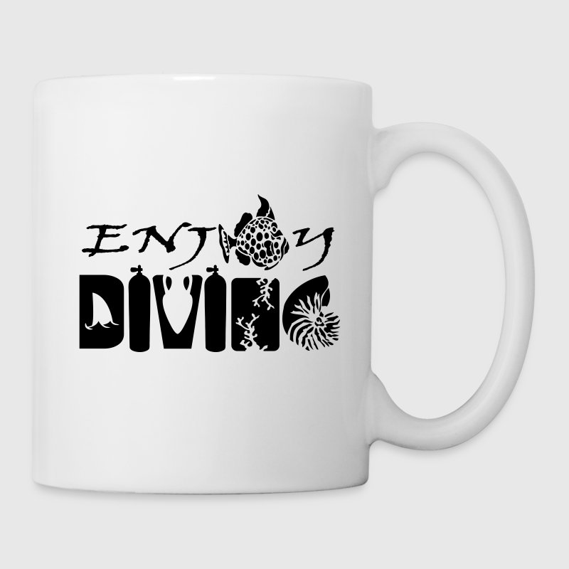 Enjoy Diving Bottles & Mugs - Mug