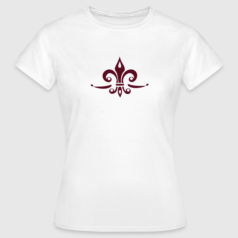Fleur de Lis - Lily Flower, Trinity Symbol - Charity, Hope and Faith, c, 1 T-Shirts - Women's T-Shirt