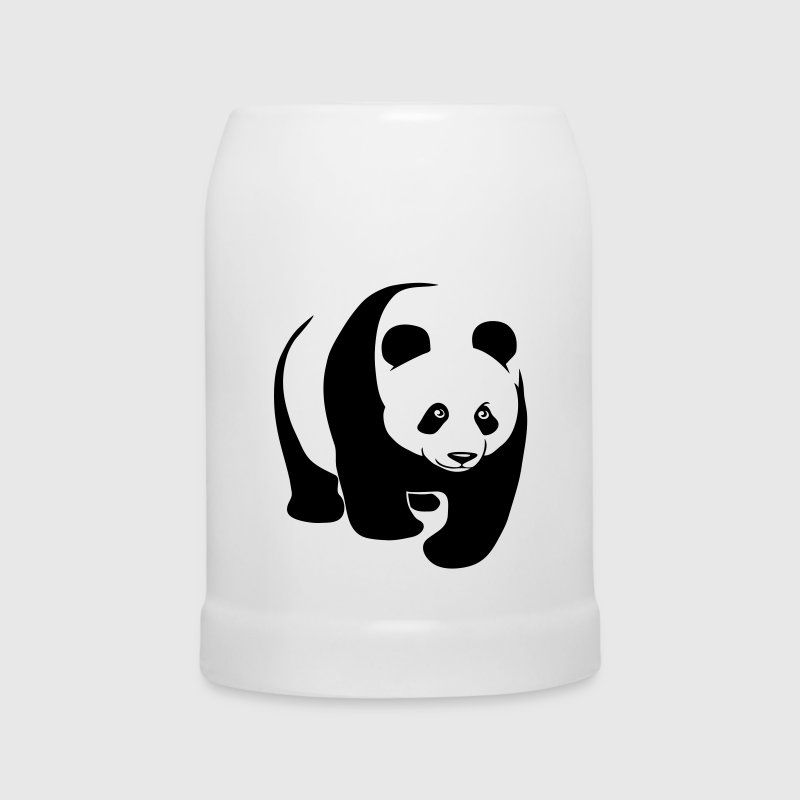 panda teddy bear cute animal t-shirt Bottles & Mugs - Beer Mug