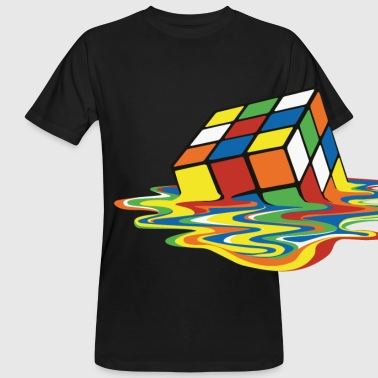 Rubik's Melting Cube - Men's Organic T-shirt