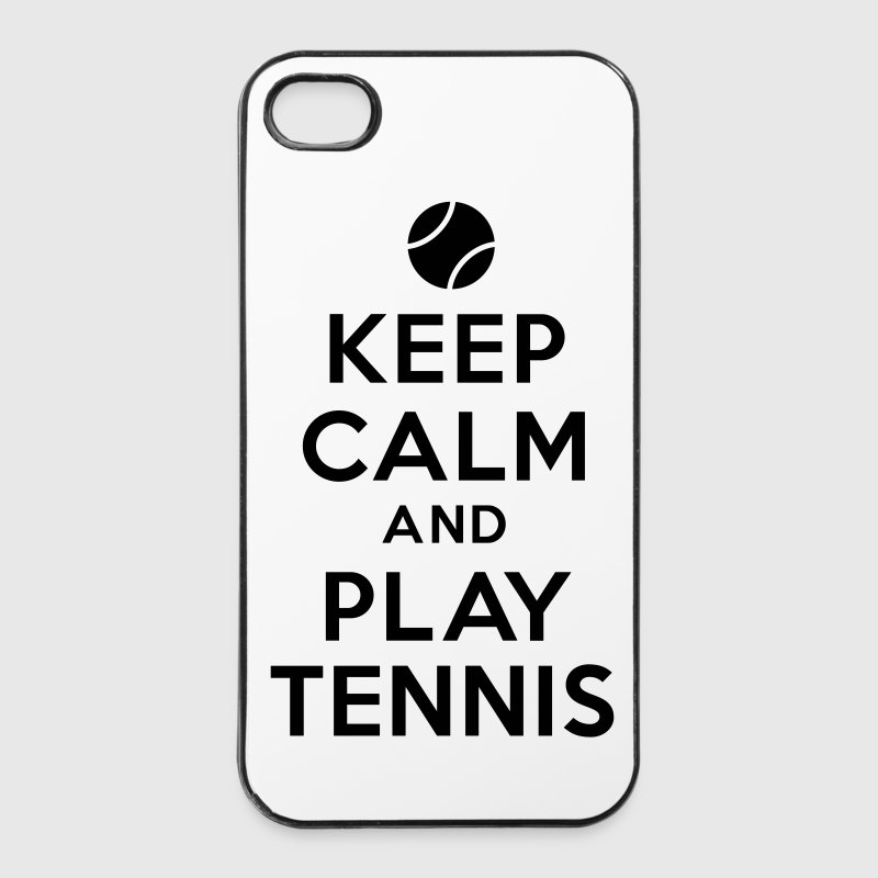 keep calm play tennis Autres - Coque rigide iPhone 4/4s