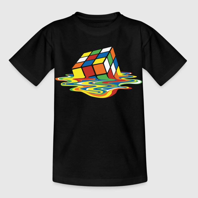 Rubik's Melting Cube - Kids' T-Shirt