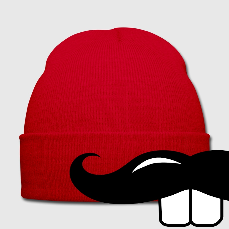 A mustache with Buck teeth Caps & Hats - Winter Hat