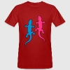 Gecko Love T-Shirts - Men's Organic T-shirt