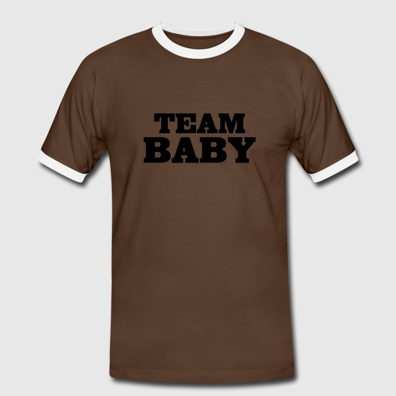 team baby Tee shirts - T-shirt contraste Homme