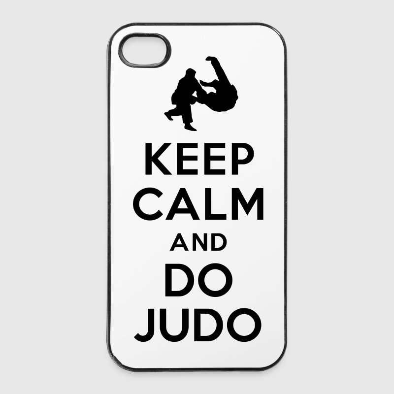 Keep calm and do Judo - iPhone 4/4s Hard Case
