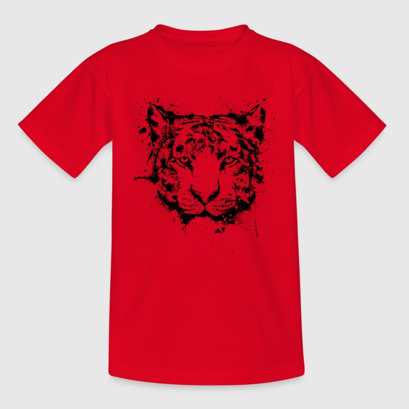 Tiger Graffiti Shirts - Kids' T-Shirt