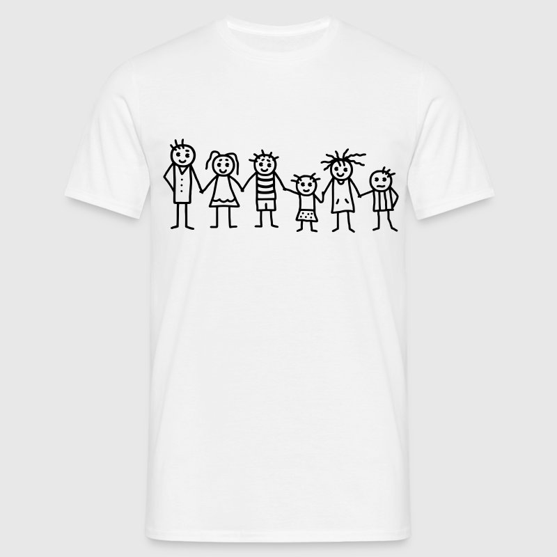 Great family - Patchwork Family T-Shirts - Men's T-Shirt