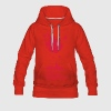 Christmas symbols with snow and merry christmas Hoodies & Sweatshirts - Women's Premium Hoodie
