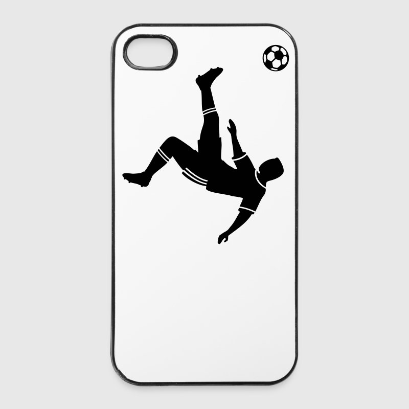 Bicycle kick soccer ball soccer player football Other - iPhone 4/4s Hard Case