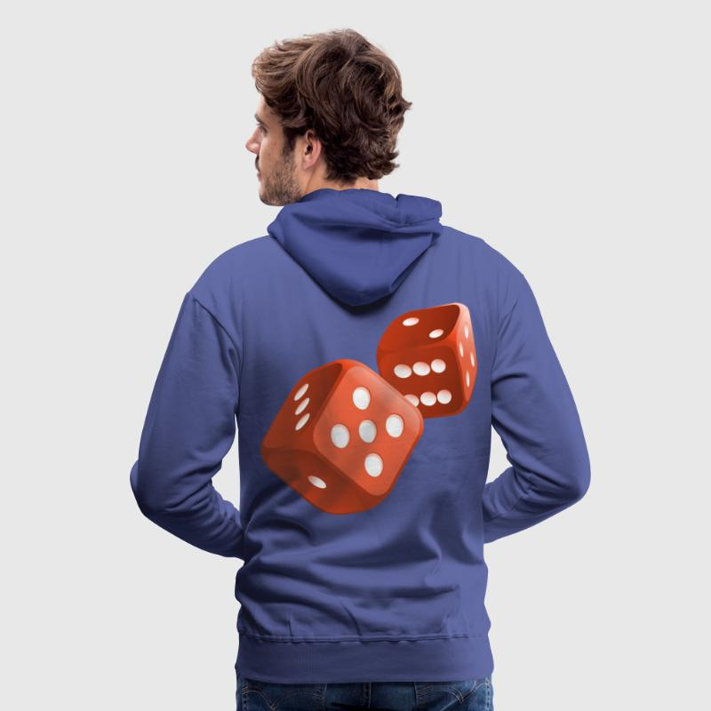 poker dices Hoodies & Sweatshirts - Men's Premium Hoodie