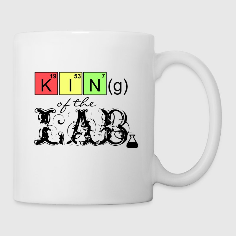 King of the Lab (DDP) Bouteilles et tasses - Tasse