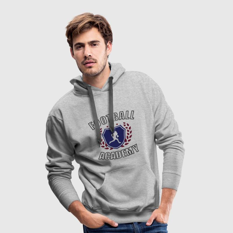 Football Americain Academy Sweat-shirts - Sweat-shirt à capuche Premium pour hommes
