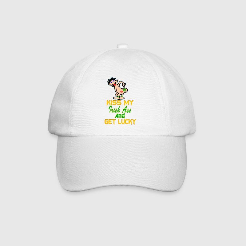 ♥ټKiss My Irish Ass Cool Baseball Capټ♥ - Baseball Cap