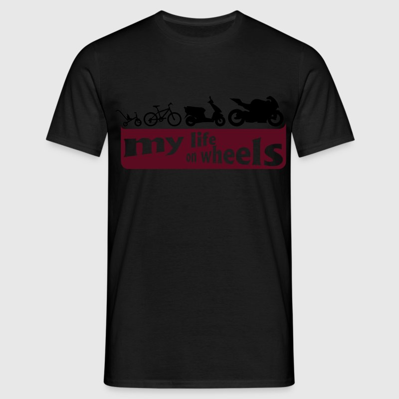 my life on wheels Shirt - Männer T-Shirt