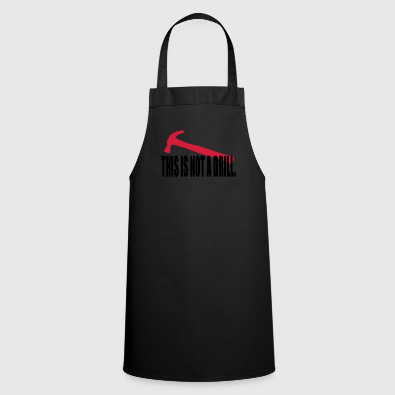 notadrill_two_color  Aprons - Cooking Apron