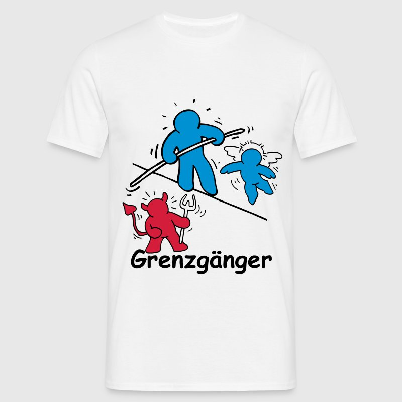 grenzgaenger t shirt spreadshirt. Black Bedroom Furniture Sets. Home Design Ideas