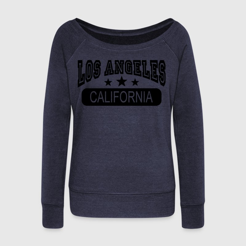 los angeles california Sweat-shirts - Pull Femme col bateau de Bella