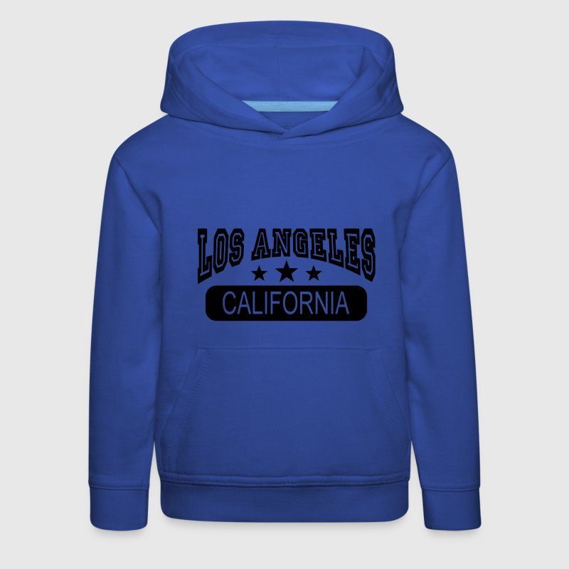 los angeles california Sweats - Pull à capuche Premium Enfant