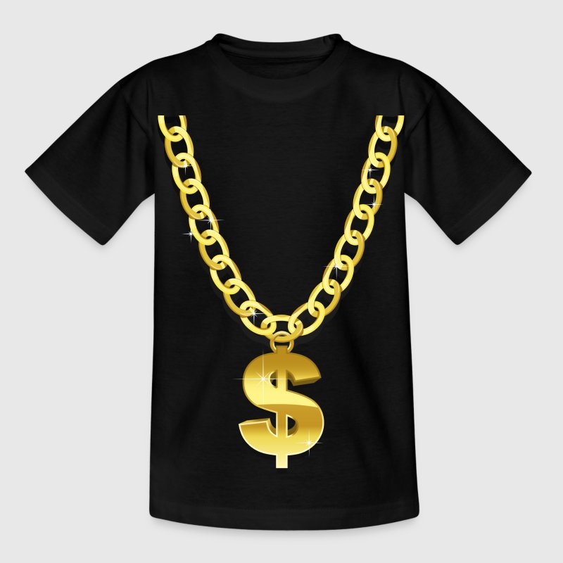 Gold Chain Shirts - Kids' T-Shirt