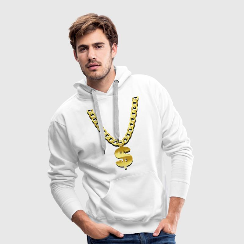 Gold Chain Hoodies & Sweatshirts - Men's Premium Hoodie
