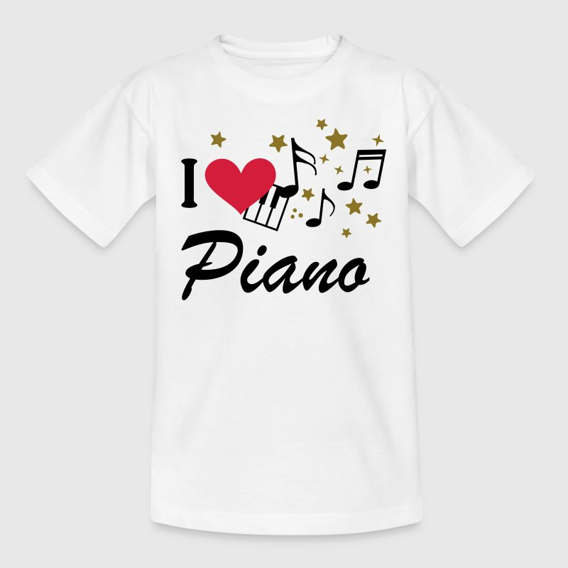 I love piano music t shirt spreadshirt for Love notes brand shirt