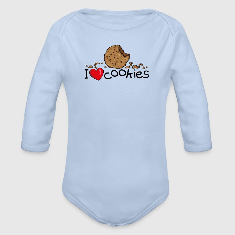 I love cookies Sweats - Body bébé bio manches longues