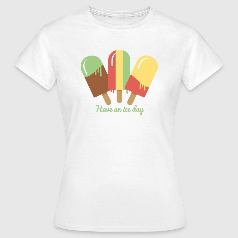Eis Ice Cream T-Shirt T-Shirts - Frauen T-Shirt