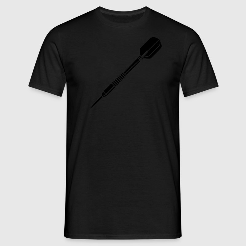 Darts Dart Darting sports logo clipart T-Shirts - Men's T-Shirt