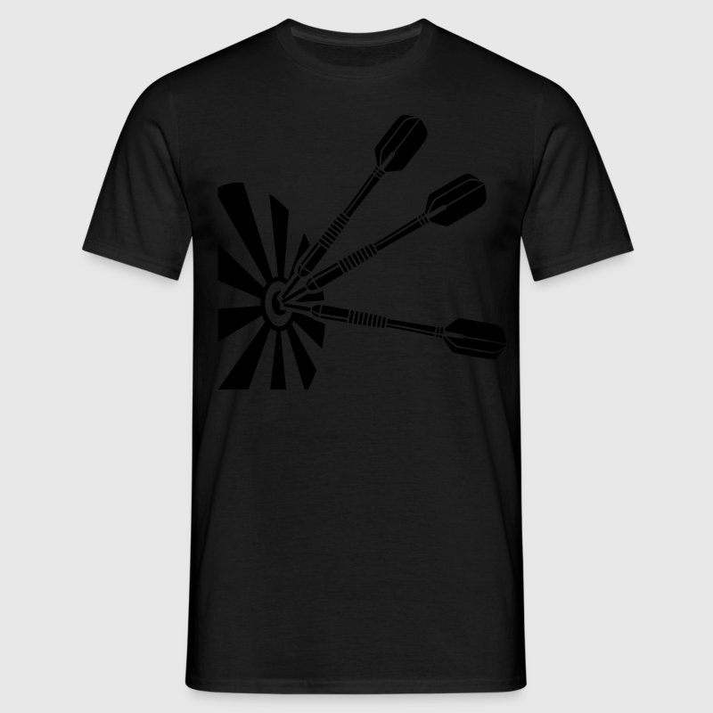 Tripple Bullseye * darts Dartboard Dart darting T-Shirts - Men's T-Shirt