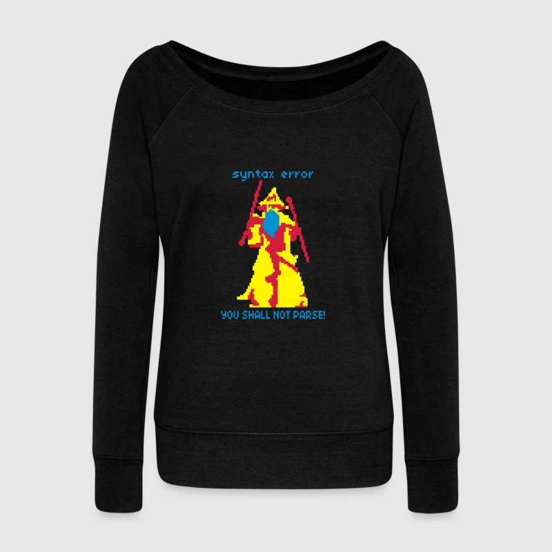 You shall not pass Sweat-shirts - Pull Femme col bateau de Bella