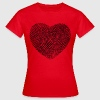 Fingerabdruck Herz Shirt for Girls - Frauen T-Shirt
