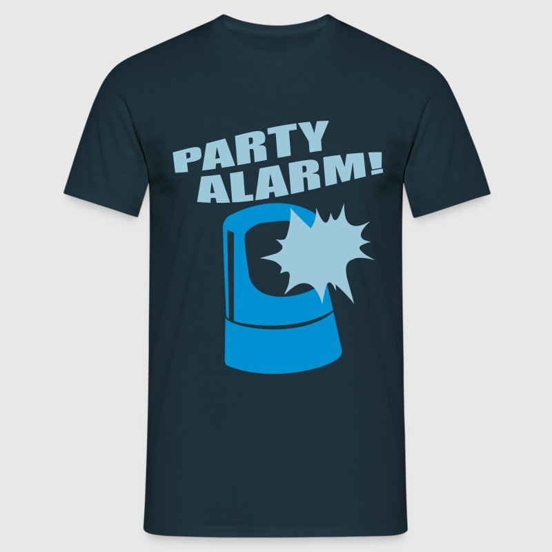 PARTY ALARM! T-Shirts - Männer T-Shirt