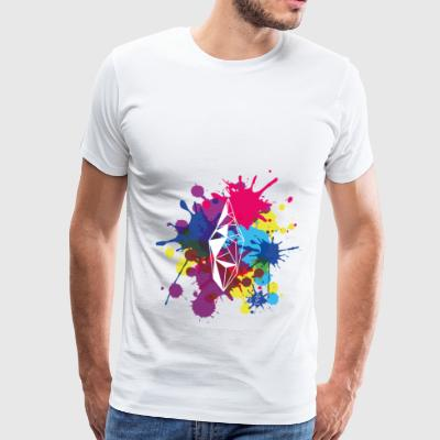 Crystal | Splash | Bag - Männer Premium T-Shirt