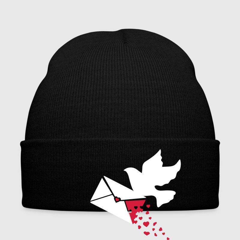 A carrier pigeon with a love letter Caps & Hats - Winter Hat