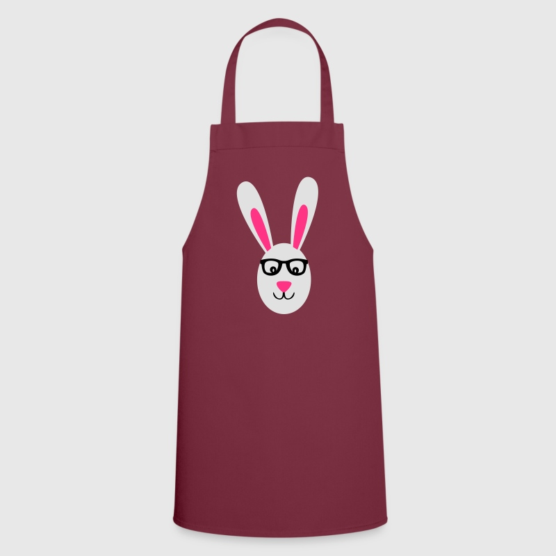 Rabbit with glasses  Aprons - Cooking Apron