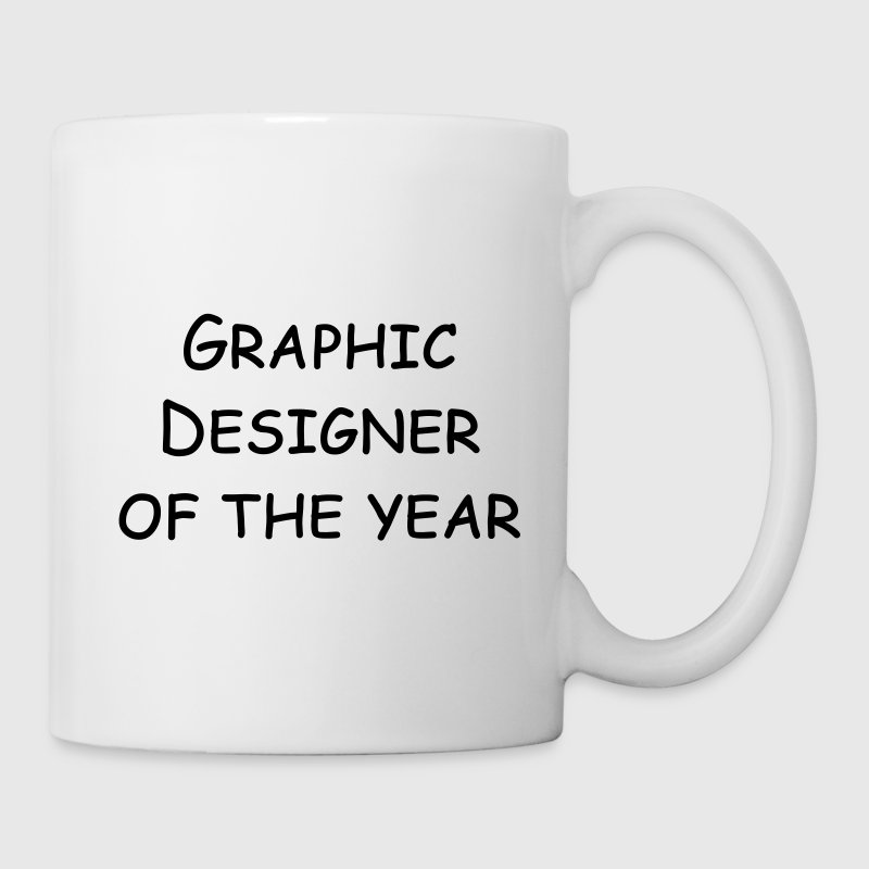 graphic designer of the year Flaschen & Tassen - Tasse