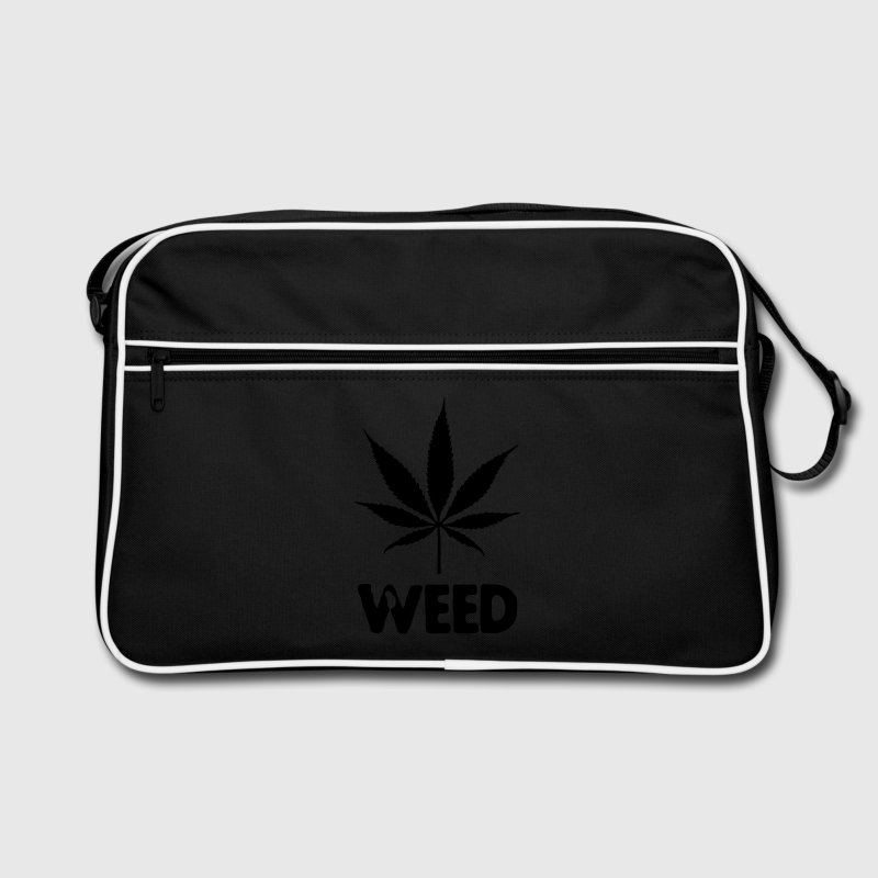 weed with leaf Sacs - Sac Retro