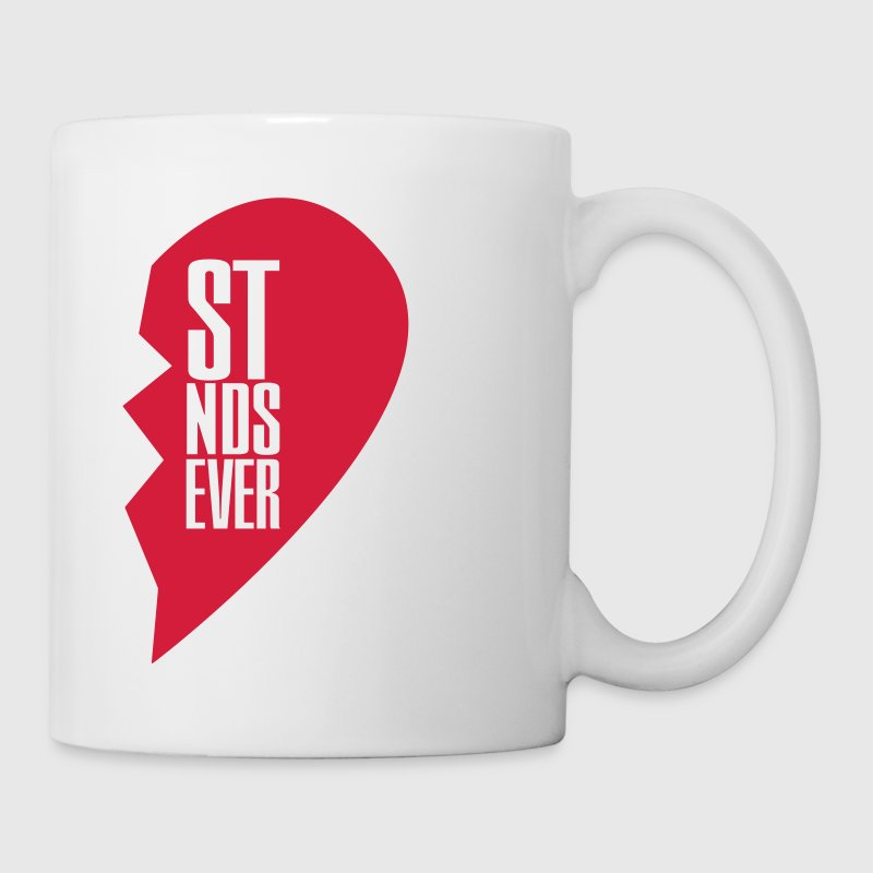 best friends forever right heart side Botellas y tazas - Taza