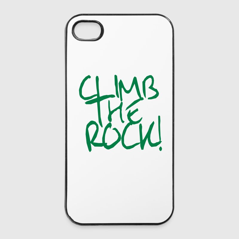 Grimpez The Rock! Escalade, alpinisme - Coque rigide iPhone 4/4s