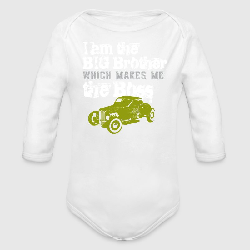 big brother  Pullover & Hoodies - Baby Bio-Langarm-Body