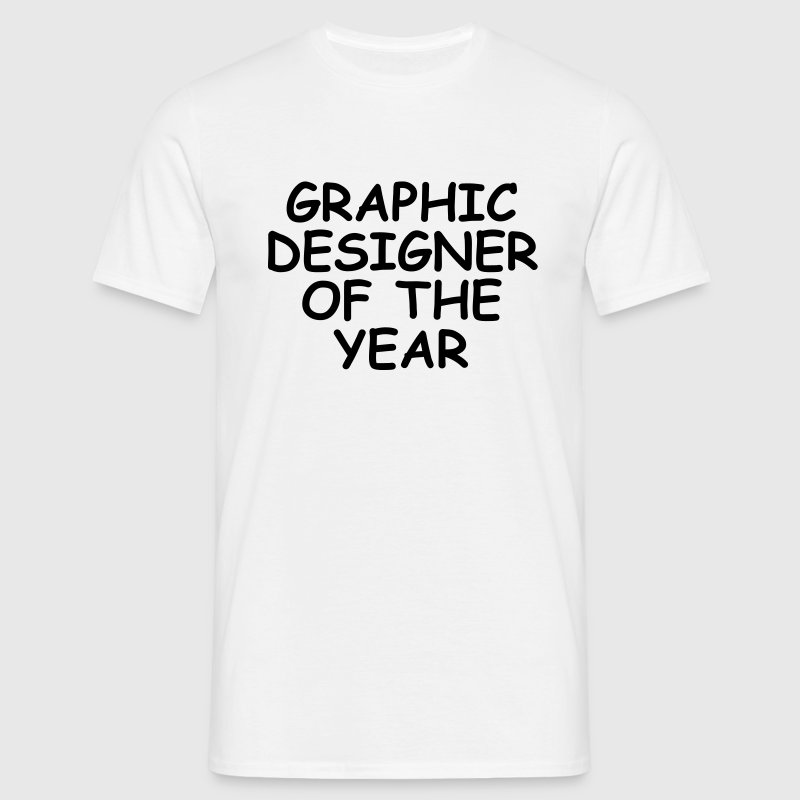 Graphic Designer Of The Year T-Shirts - Männer T-Shirt