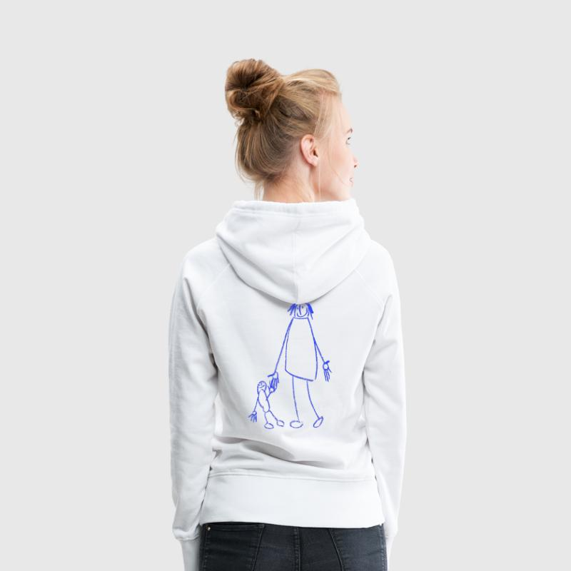Mutter mit Kind Pullover & Hoodies - Frauen Premium Hoodie