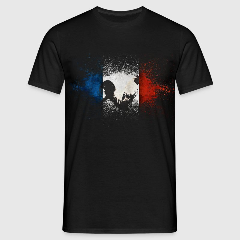 French Flag Tee shirts - T-shirt Homme