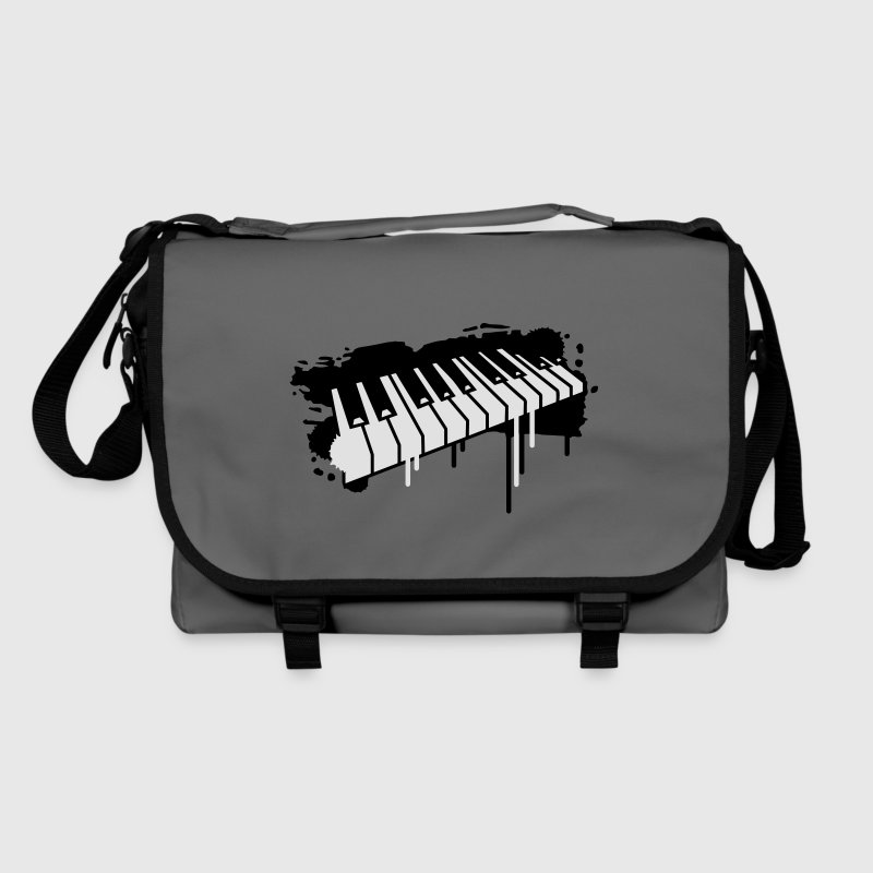 Piano keyboard in graffiti style Bags  - Shoulder Bag