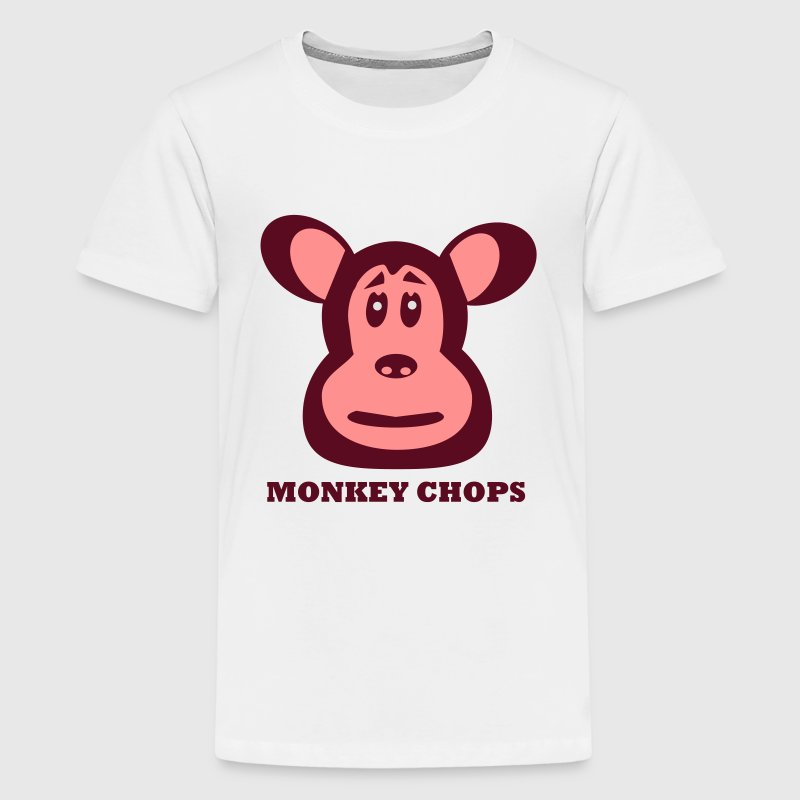 Monkey Chops Teen's Tee - Teenage Premium T-Shirt