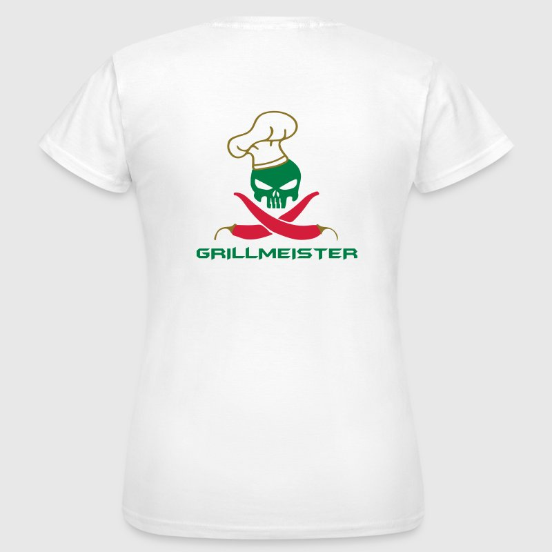 totenkopf grillmeister t shirt spreadshirt. Black Bedroom Furniture Sets. Home Design Ideas