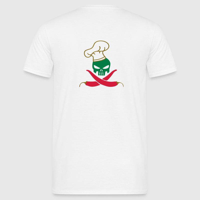 SKULL CHILLI T-Shirts - Men's T-Shirt