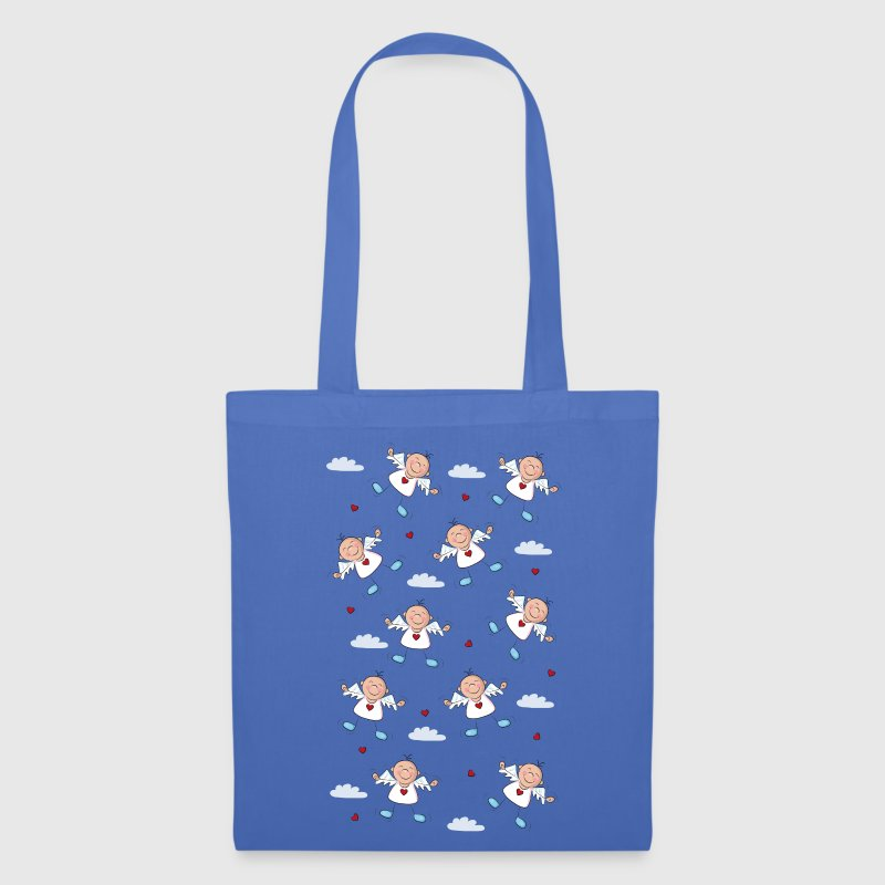 Many happy little angel in sky with clouds Bags  - Tote Bag