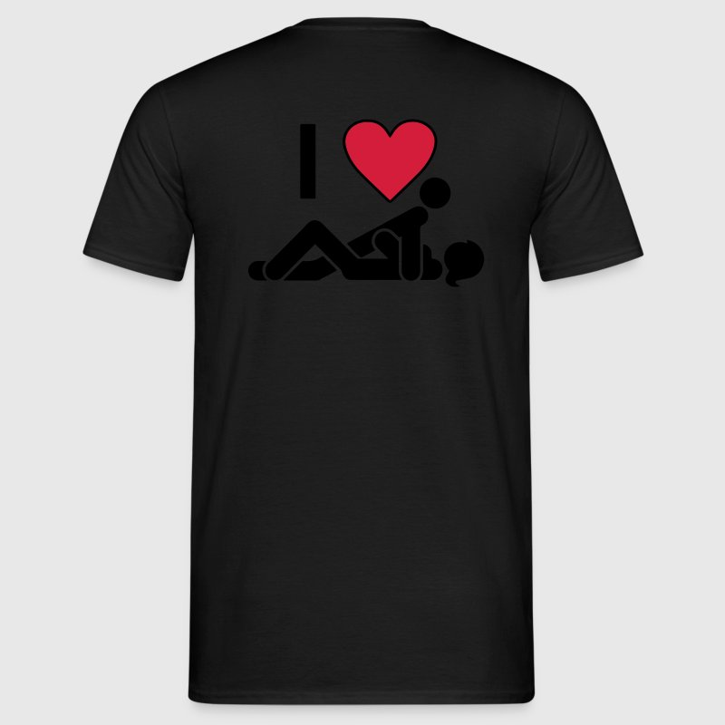 I LOVE SEX Tee shirts - T-shirt Homme